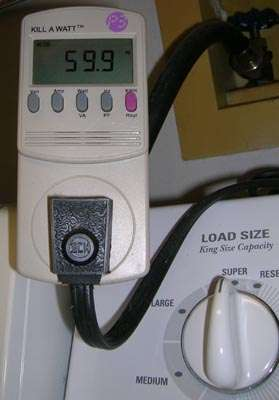 washing machine power cord extension