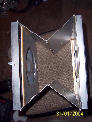 Convert A Coleman Folding Oven To Wood Stove