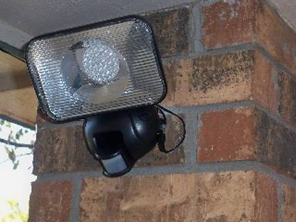 Front Door Solar Security Light