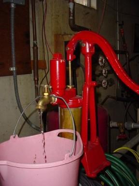 Lifting Water Through A Deep Well Pump