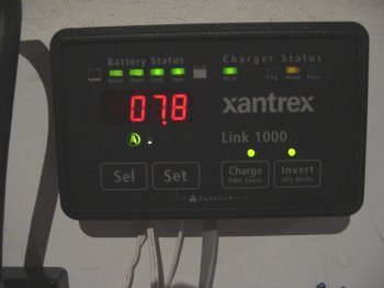 The Xantrex 458 Inverter Charger And The Link 1000 Controller