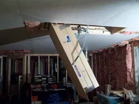 werner attic ladder installation instructions