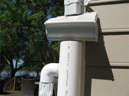 Inexpensive Roof Washer For Rain Water Collection