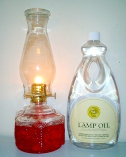 I Decided To Run A Burn Time Experiment To Determine How Long A Half Gallon  Of Lamp Oil (as Shown Above    64 Fluid Ounces Or Just Under 2 Liters) And  A ...