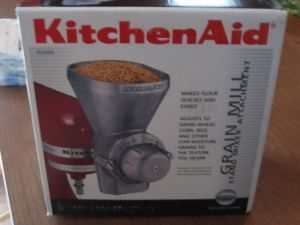 Kitchen Aid Wheat Grinder Speed
